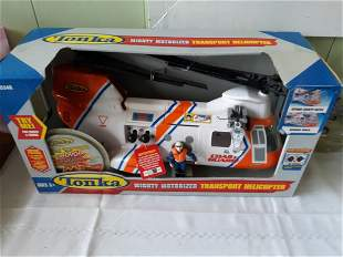 tonka mighty motorized transport helicopter new in box