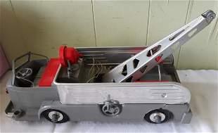 vintage ideal 1950's fix it tow truck metal