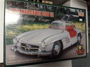 minicraft 1955 gullwing mercedes kit 1/16 new in box