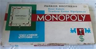 vintage monopoly game 1961 Parker Brothers #9!