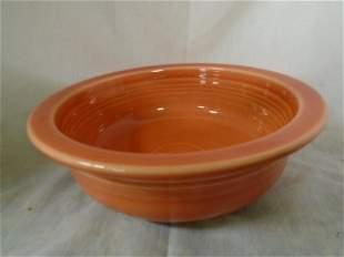 "fiesta persimmon bowl 8 1/2"" wide"