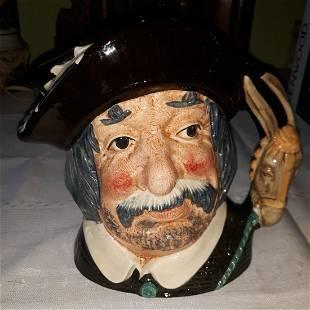 """Royal Doulton Toby Sancho Panca 7 1/2"""" mug 1956"""