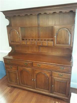Pa House Stepback Cupboard cabinet