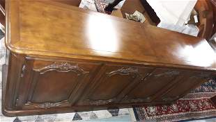 Baker Furniture walnut country French sideboard LQQK!