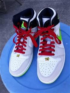 nike air jordan 1 retro electric green sneakers