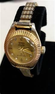 mid century seiko electra 23 watch