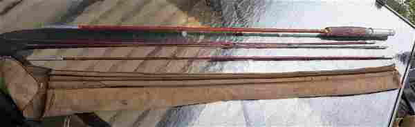 antique fly fishing pole by horrocks Ibbotson beaverkil