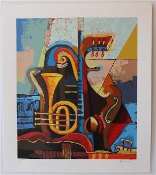 Igor Kovalev Symphony I Limited Edition serigraph