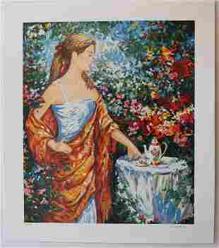 Igor Semeko Limited Edition Serigraph Tea Time