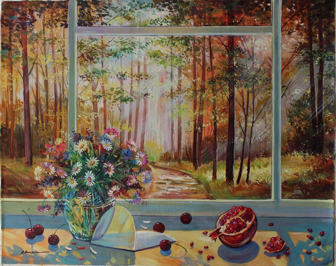 "Alexander Borewko Original Oil on Canvas ""Into the"