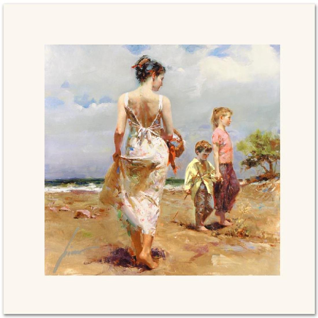 """Mediterranean Breeze"" Limited Edition Giclee on Canvas"