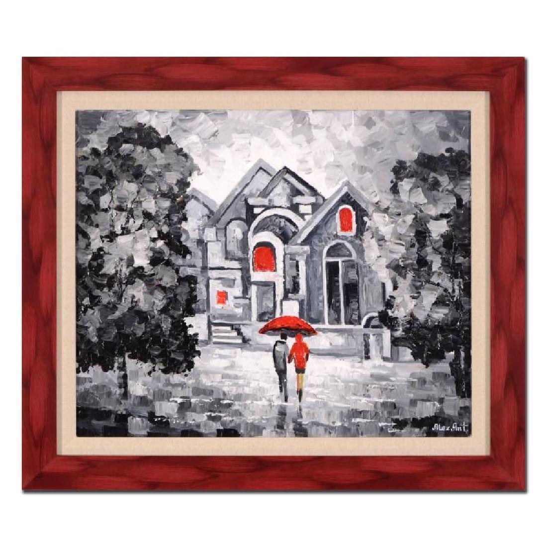 "Alexander Antanenka ""A Date in the Rain"" Framed"