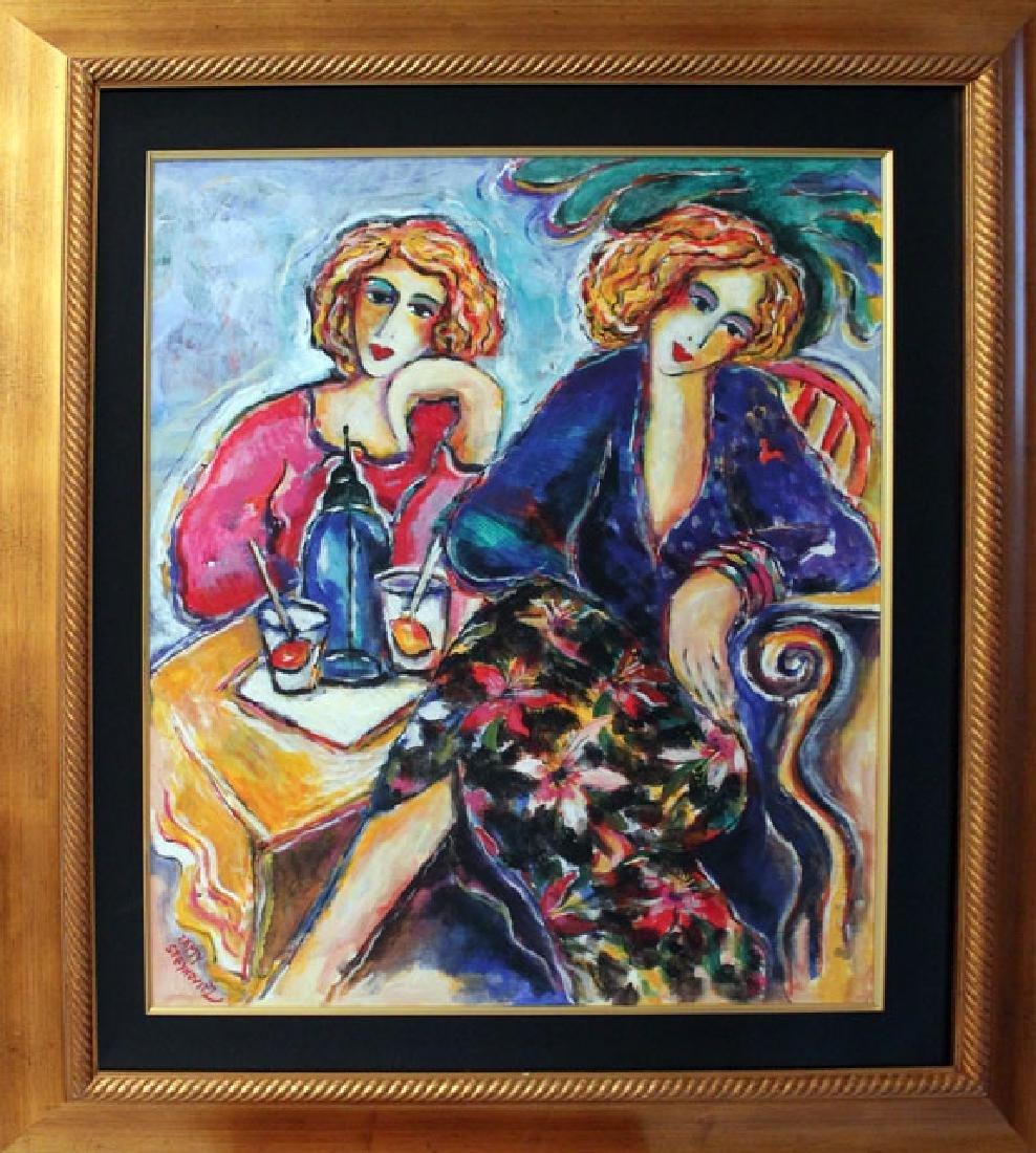 """Zamy Steynovitz- Original oil on canvas 24x30"""" Framed"""