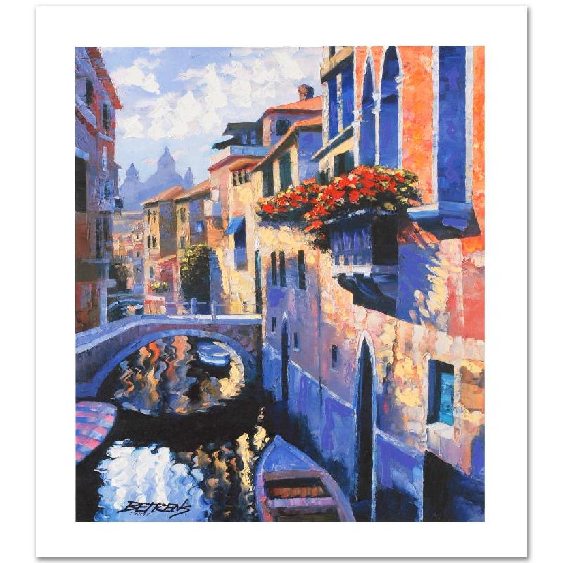 "Howard Behrens ""Magic of Venice III"" Embellished LE G/C"