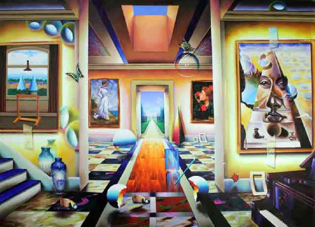"Ferjo Giclee on Canvas ""Into the Garden"""