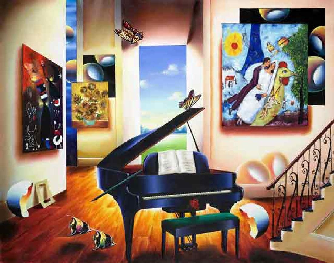 Ferjo Giclee on Canvas LOVER'S SONG