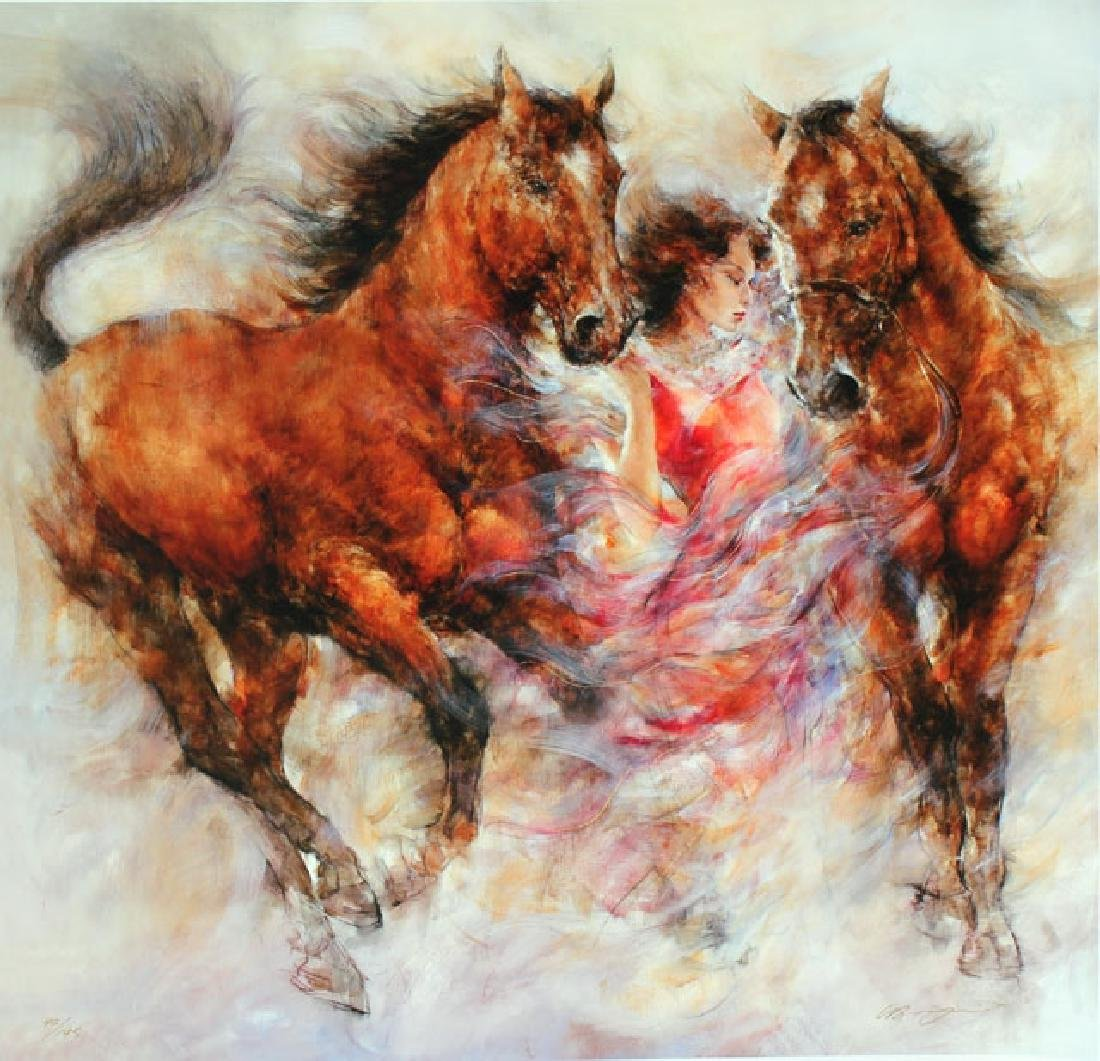 Gary Benfield- Spirit III Limited Edition Giclee on