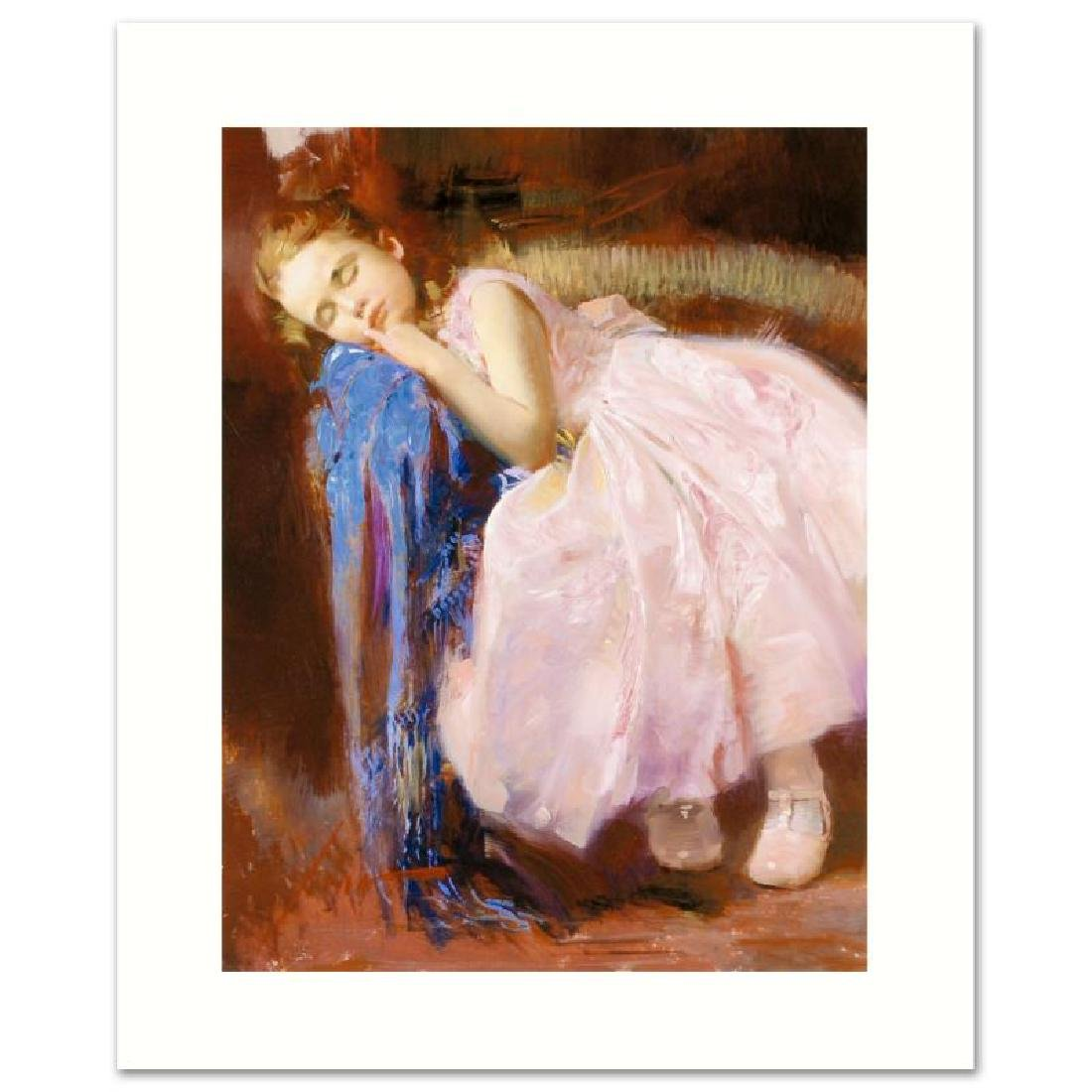 "Pino Embellished Giclee on Canvas LE ""Party Dreams"""