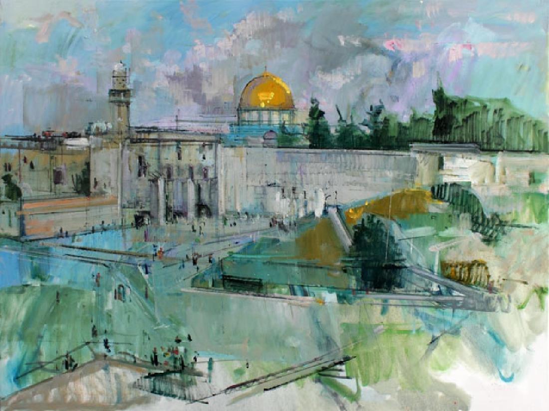 """Alex Zwarenstein Giclee on Canvas """"Jerusalem"""""""