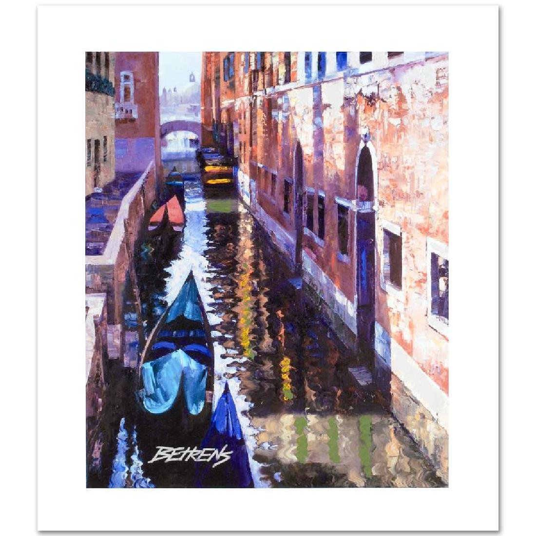 "Howard Behrens ""Magic of Venice I"" Embellished LE G/C"