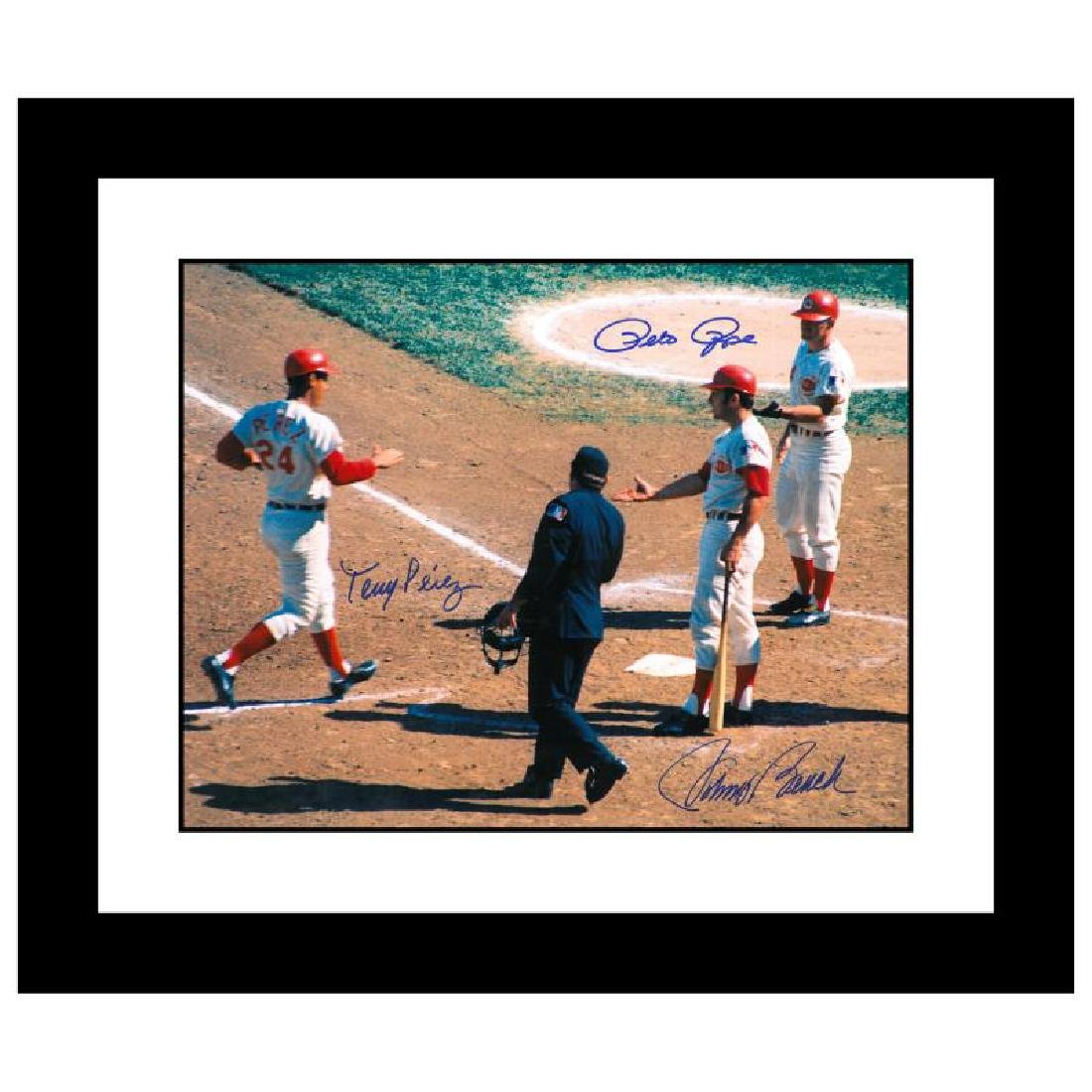 """Rose, Pete """"Tony Crossing the Plate"""""""