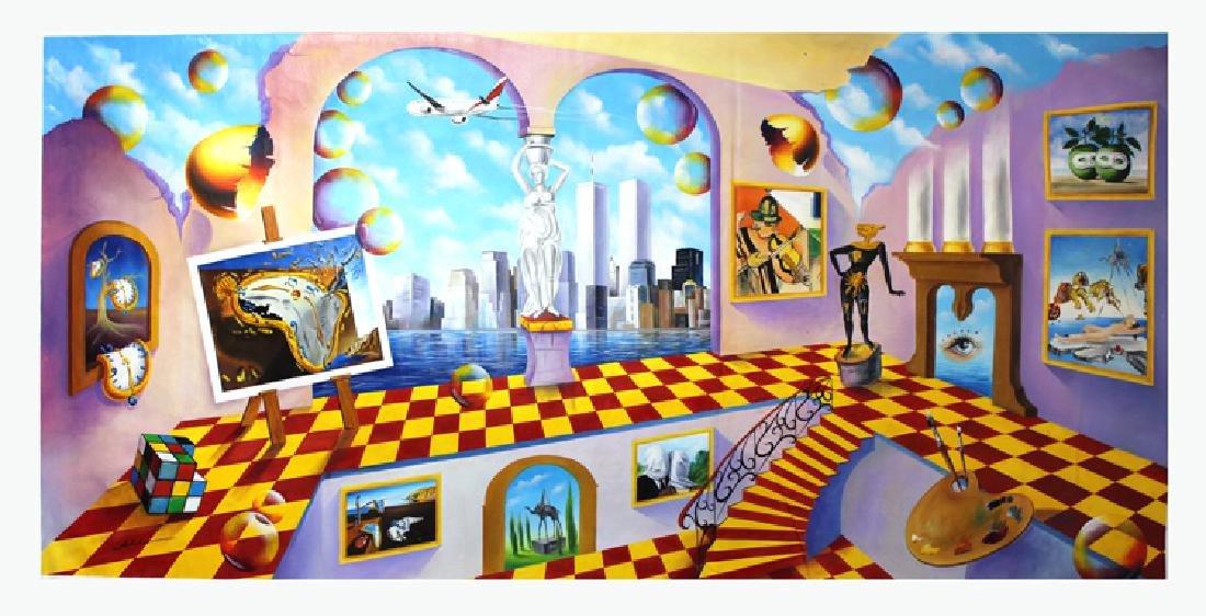 Alexander Astahov Original Painting- Dali Vision of New