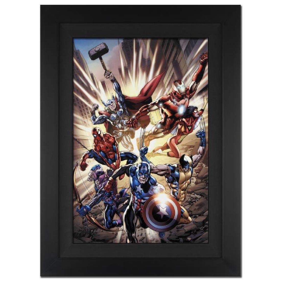 "Bryan Hitch and Marvel Comics ""Avengers #12.1"""