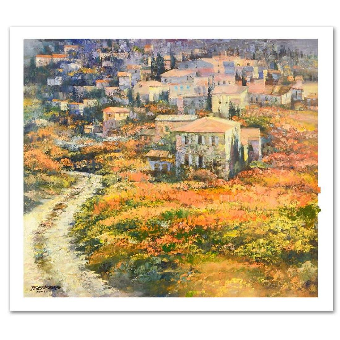 Howard Behrens Hand Embellished Giclee on Canvas