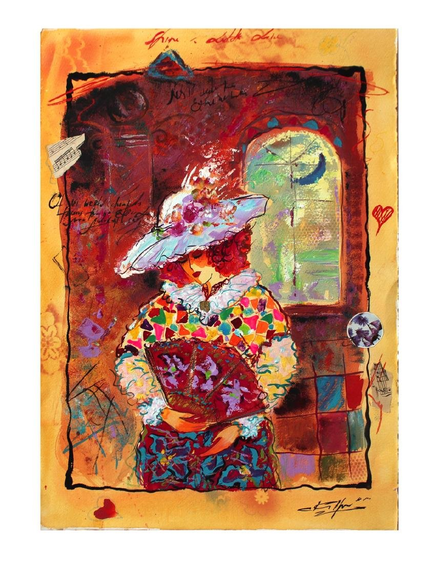Sergey Kovrigo Original Watercolor H.Signed Only 1 of a