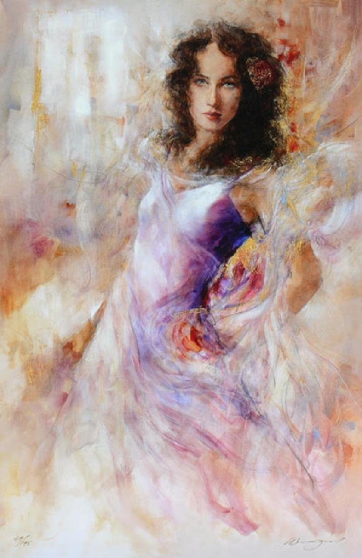 Gary Benfield- Alana Limited Edition Giclee on Canvas