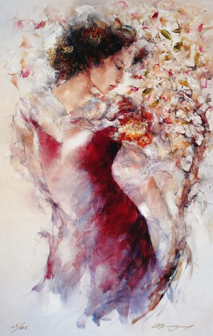 Gary Benfield- Flora Limited Edition Giclee on Canvas