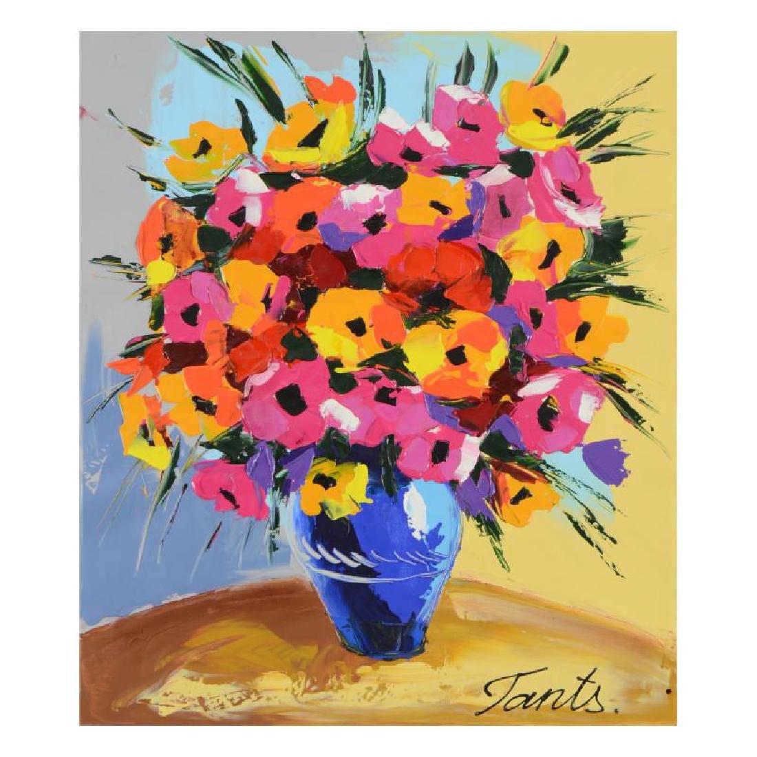 Lena Tants - Original Acrylic Painting on Canvas