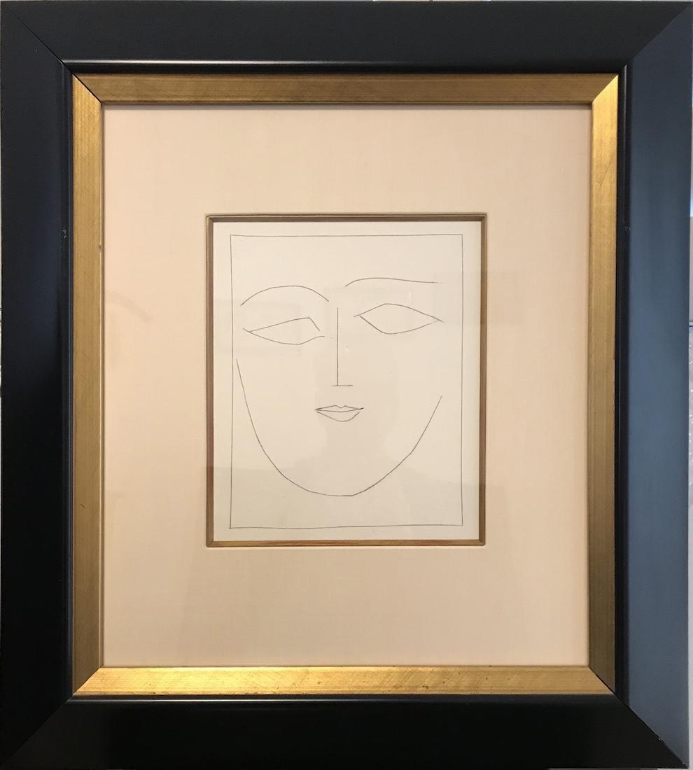 """Pablo Picasso Original Engraving """"Carmen"""""""