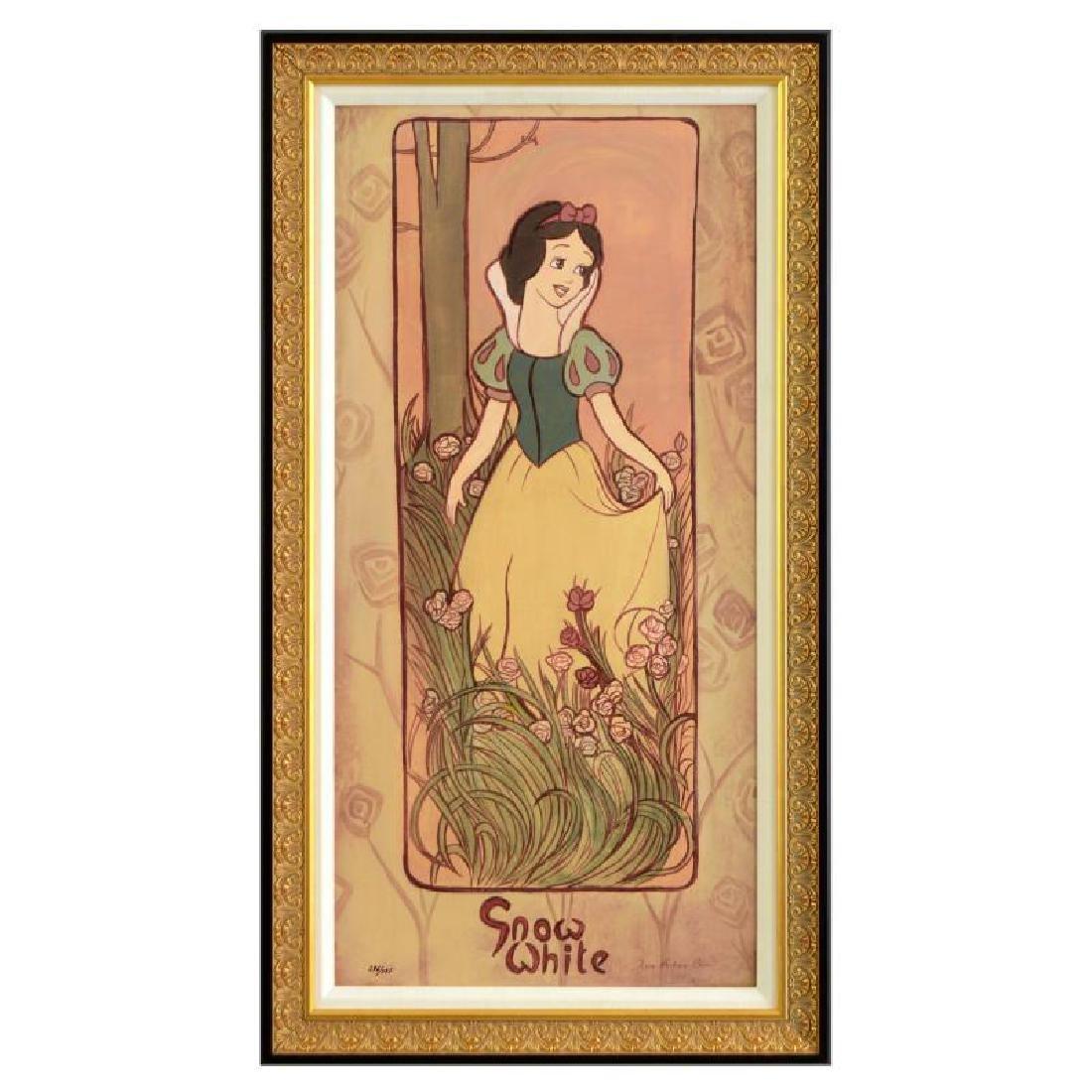 "Tricia Buchanan-Benson - ""Snow White"" Framed Limited"