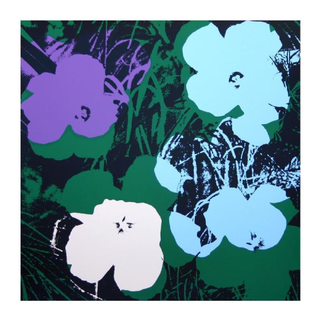"Warhol, Andy ""Flowers 11.64"" Serirgaph"