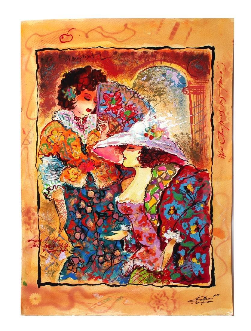 Sergey Kovrigo Original Watercolor Signed Only 1 of a