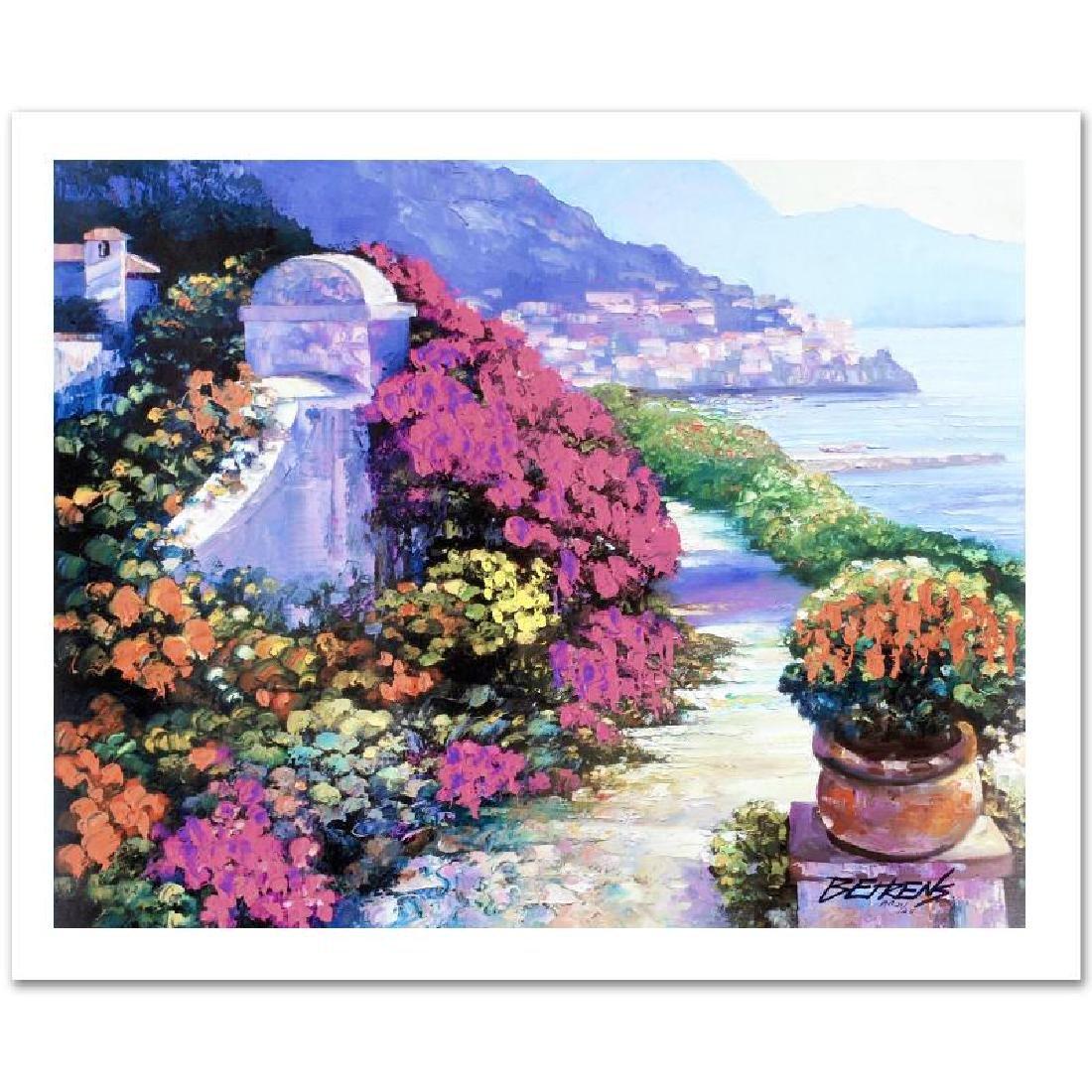 "Howard Behrens ""Near Amalfi"" Embellished LE G/C"