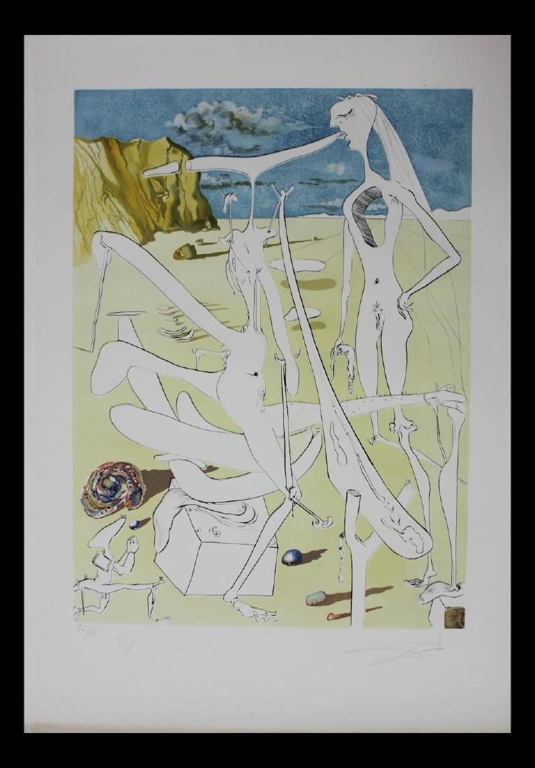 Salvador Dali Original Engravings 1974 Conquest of