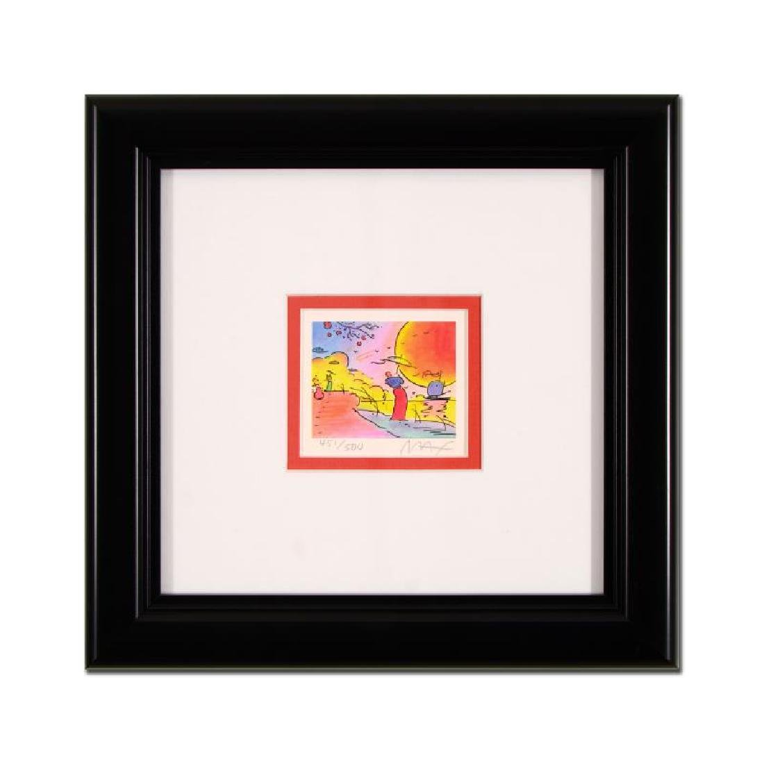 "Peter Max - ""Two Sages IV"" Framed Limited Edition"