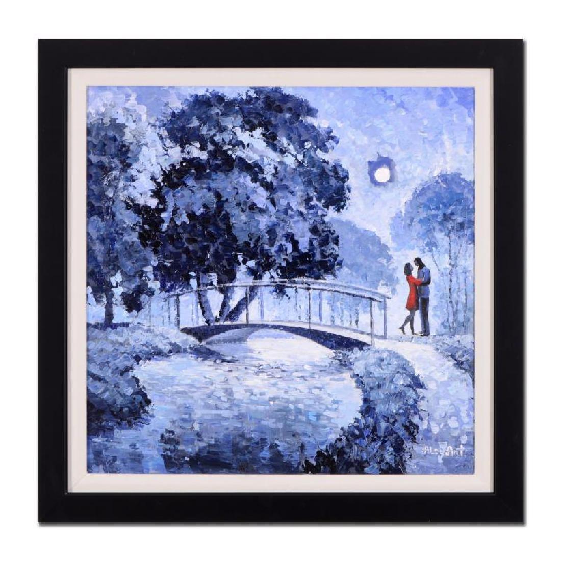 """Alexander Antanenka """"A Kiss In the Moonlight"""" Framed"""