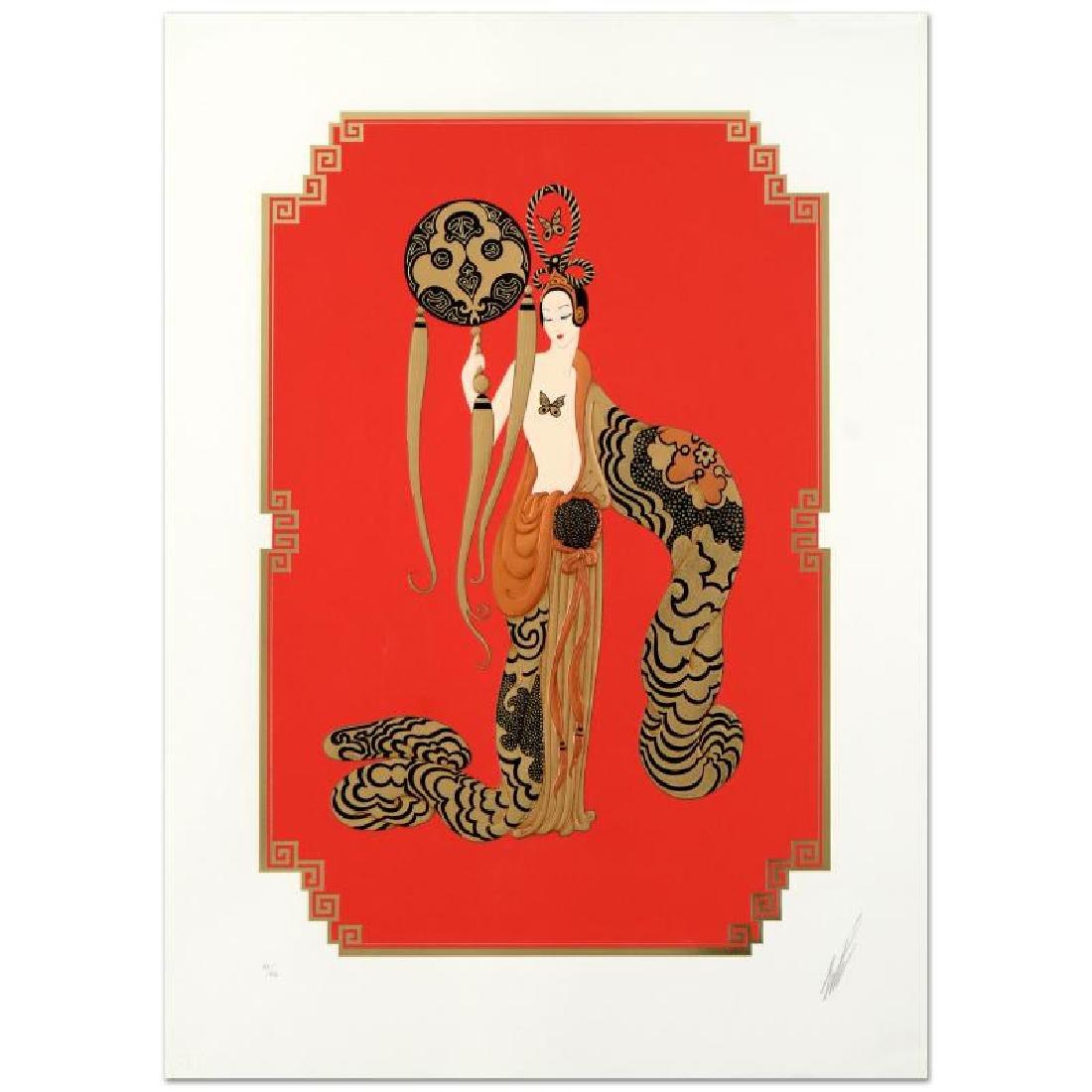 "Erte (1892-1990) ""Bamboo"" SERIGRAPH"