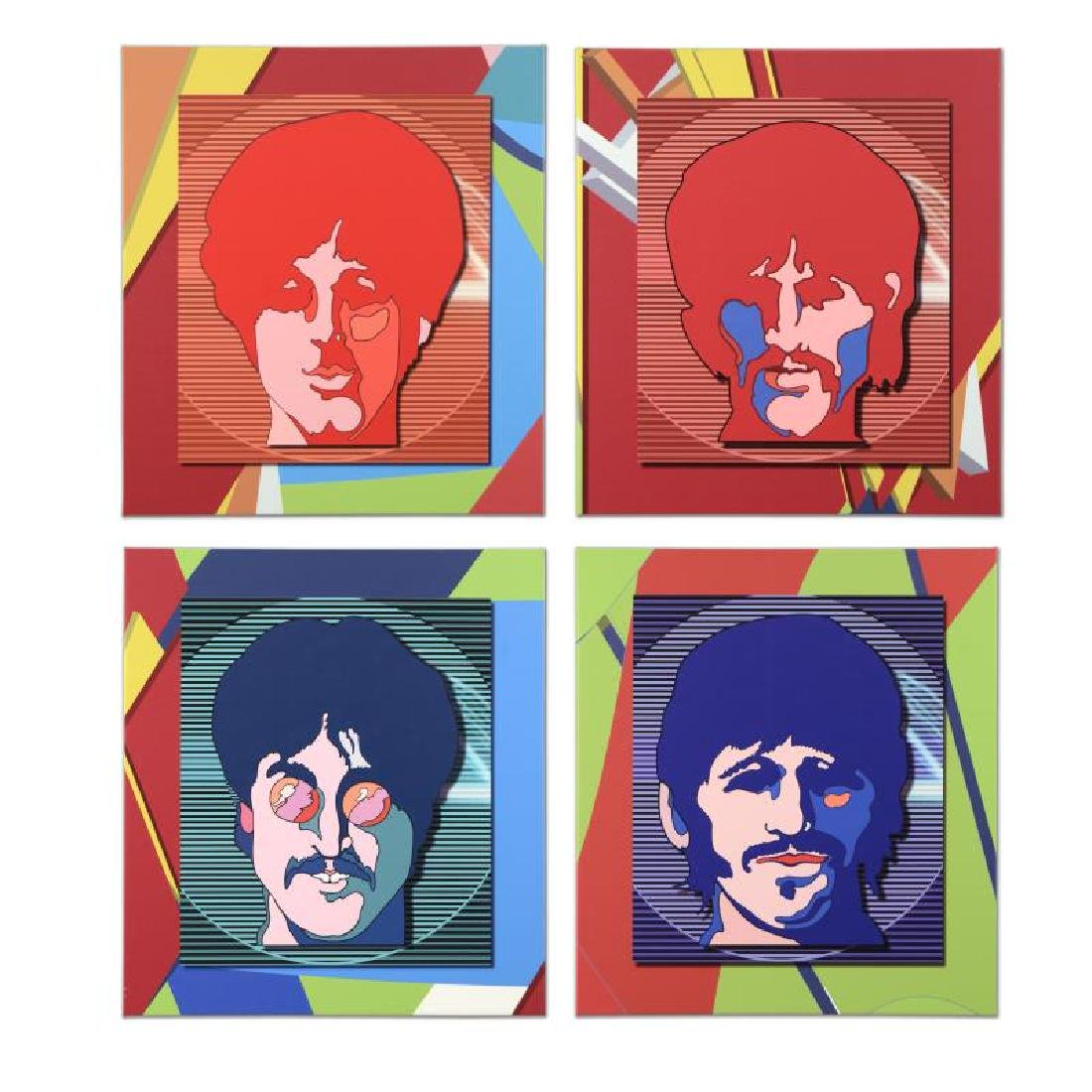 "Beatles, The ""Sea of Science Experience (Set of 4)"""