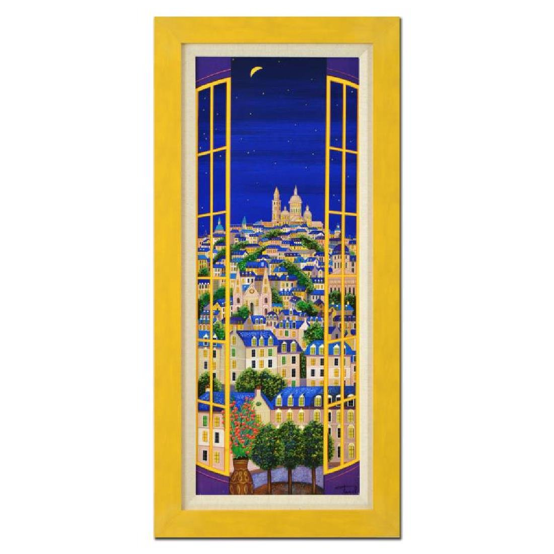 "Ledan, Fanch ""Window On Paris"" Serigraph"