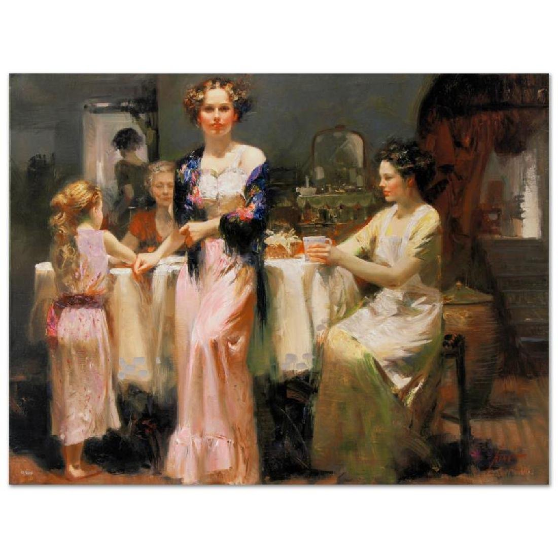 """Pino (1939-2010) """"The Gathering"""" GICLEE"""
