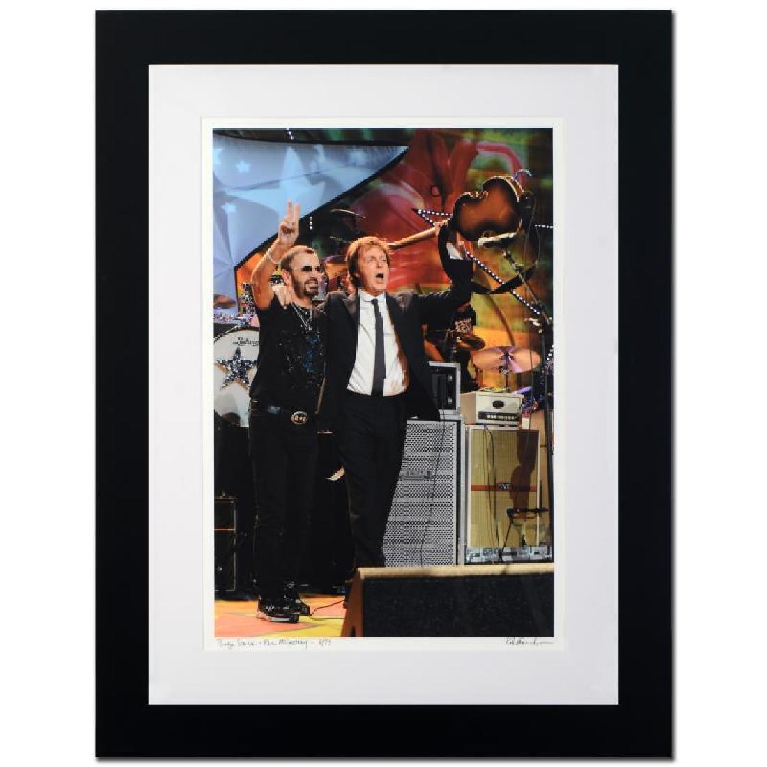 """Shanahan, Rob """"Ringo Starr & Paul McCartney"""" Giclee"""