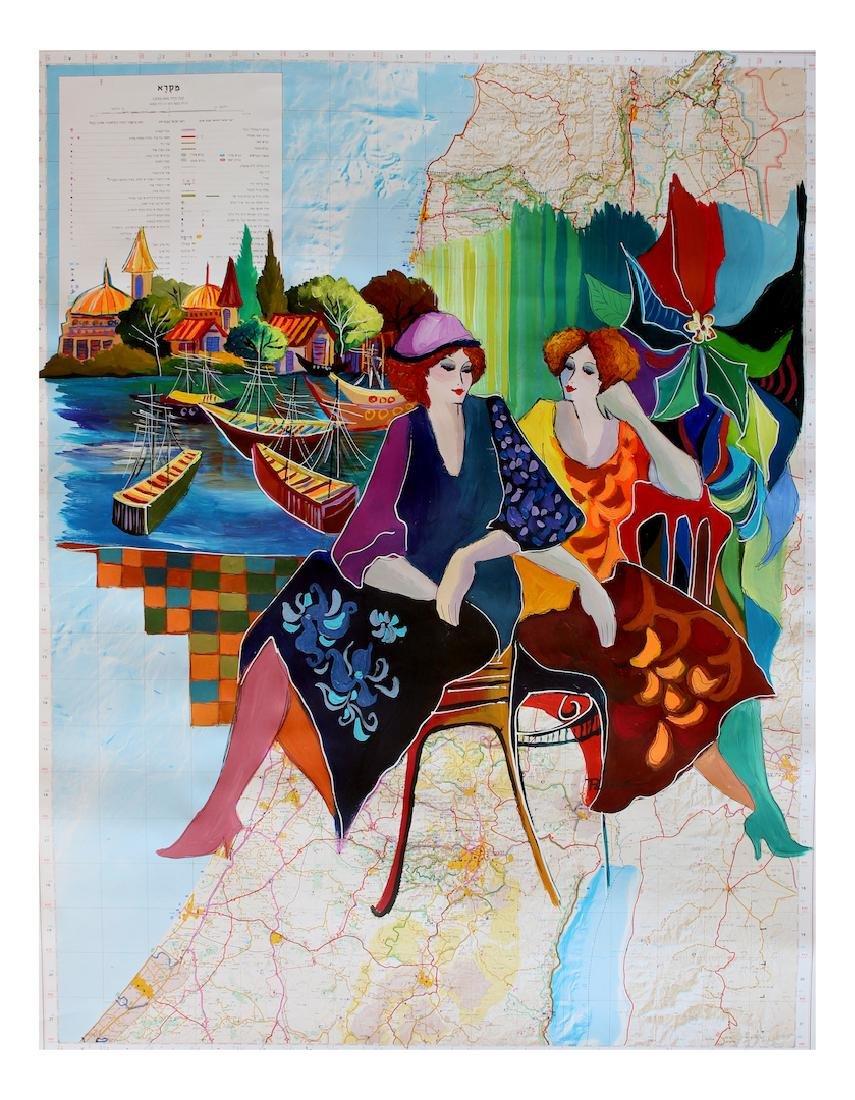 Patricia Govezensky Original Acrylic Painting on