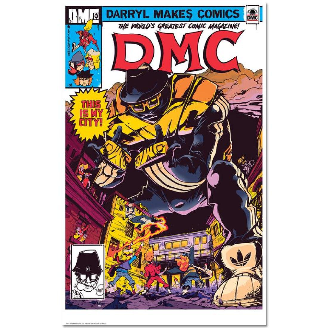 """DMC """"This Is My City"""" GICLEE"""