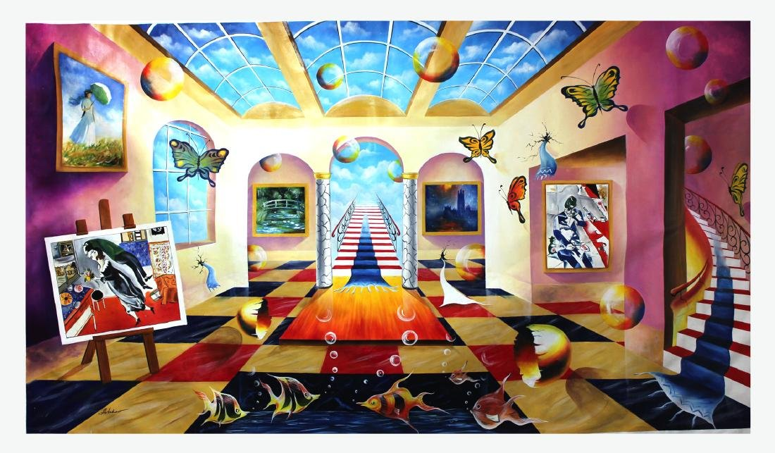 Alexander Astahov Original- Stairway to the Memory