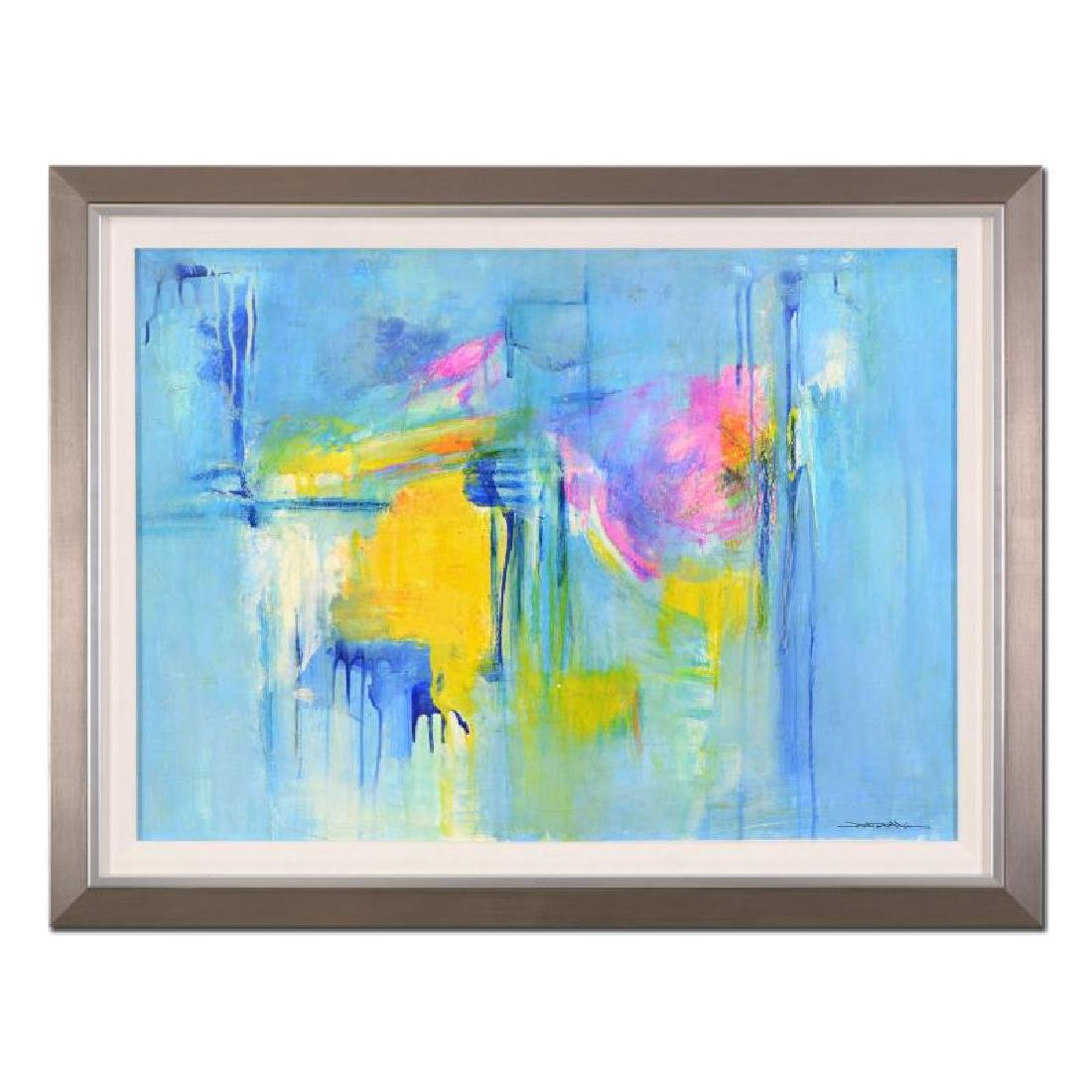 "Roberto Donatelli ""Greek Sun"" Framed Original Painting"