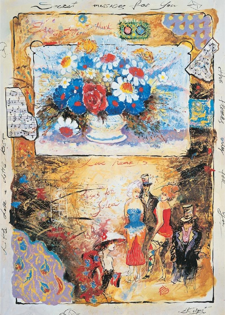 "Sergey Kovrigo ""Musicians"" Serigraph on Canvas LE HS/N"